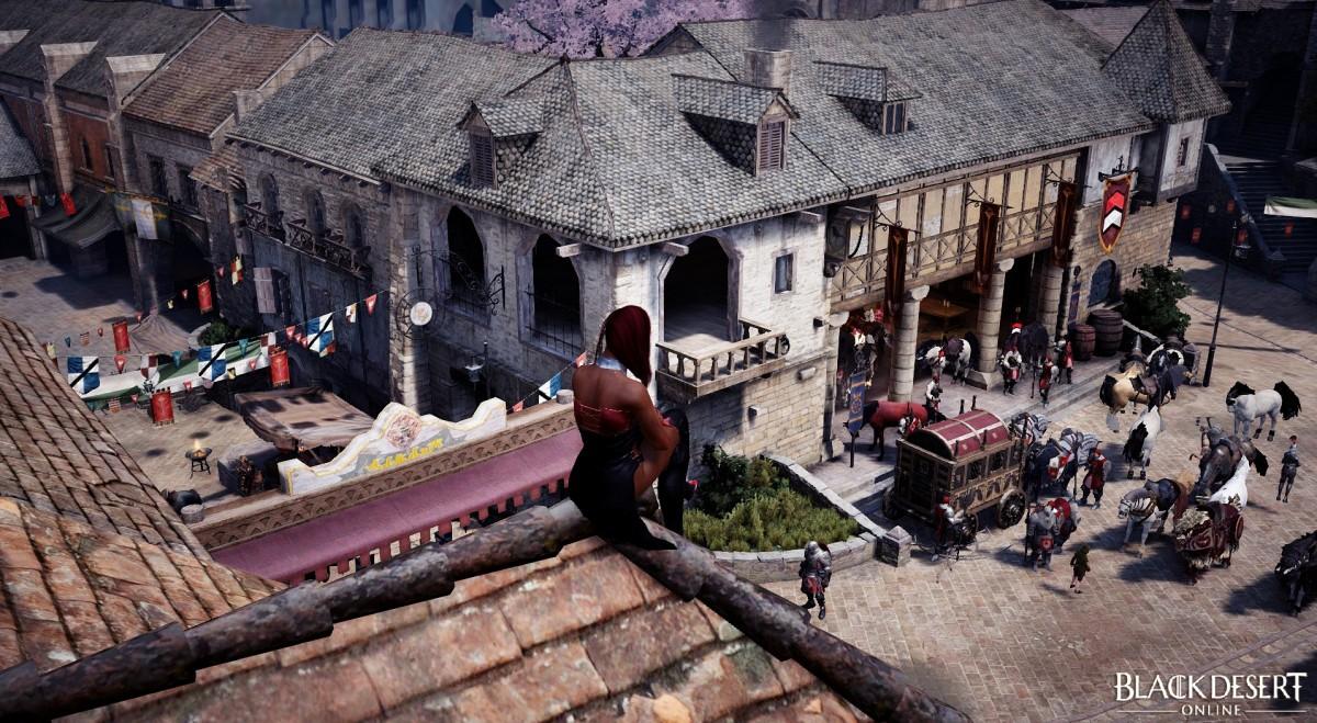 Ein Täubchen auf dem Dach