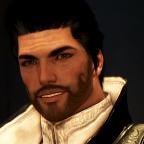 Er kann auch lächeln