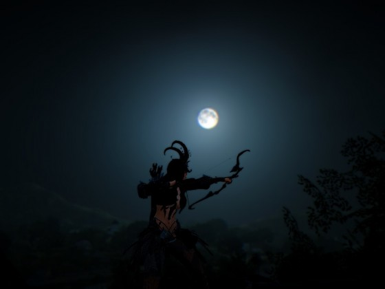 Hunting under the Moonlight