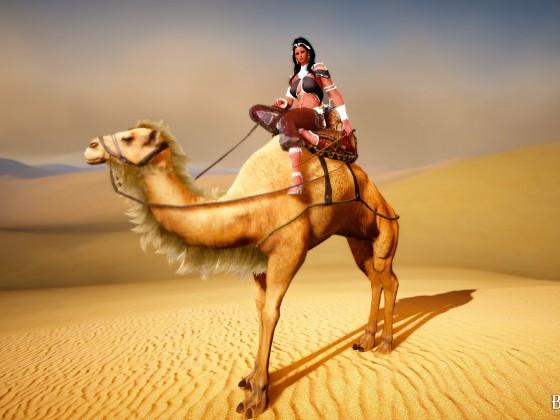 Ein Krebs in der Wüste *g*