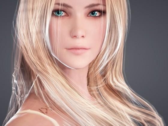 Blondie die Walküre...