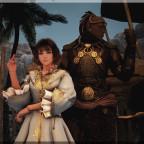 Der Schwarzmagier Aothar & die Magierin Lucy