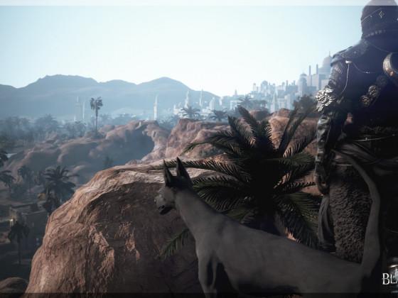 Der Mysteriöse Wüstenreiter