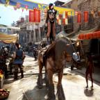 Nisareia die Pferdeakrobatin