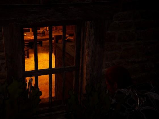 Beobachter und Schatten