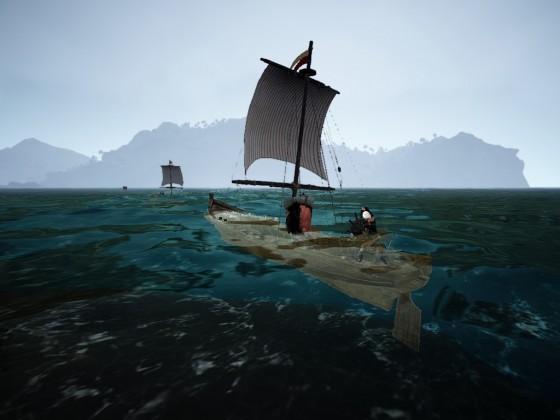 Etwas Wasser im Boot